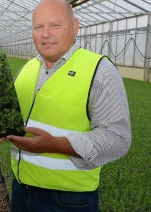 Stein Andreassen, daglig leder på Skogplanter Innlandet AS